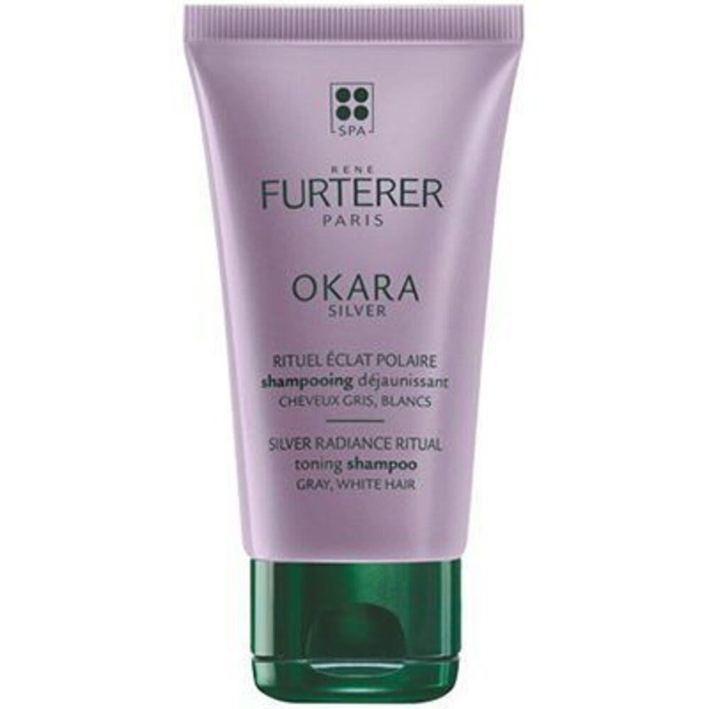 Okara silver shampooing déjaunissant 50ml Furterer-223096