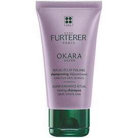 Okara silver shampooing déjaunissant 50ml - furterer -223096
