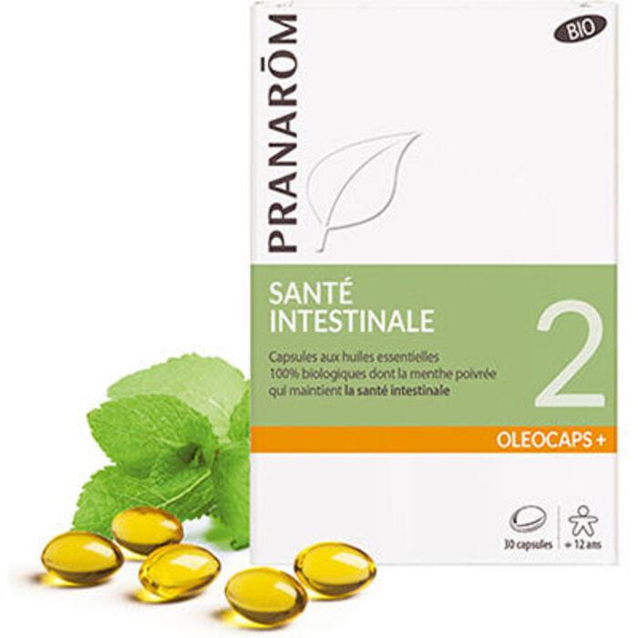 Oléocaps+ santé intestinale bio 30 capsules Pranarom-227882