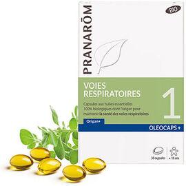 Oléocaps+ voies respiratoires bio 30 capsules - pranarom -227884
