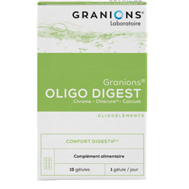 Oligo digest 15 gélules - granions -226440