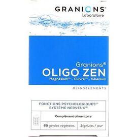 Oligo zen 60 gélules - granions -226582