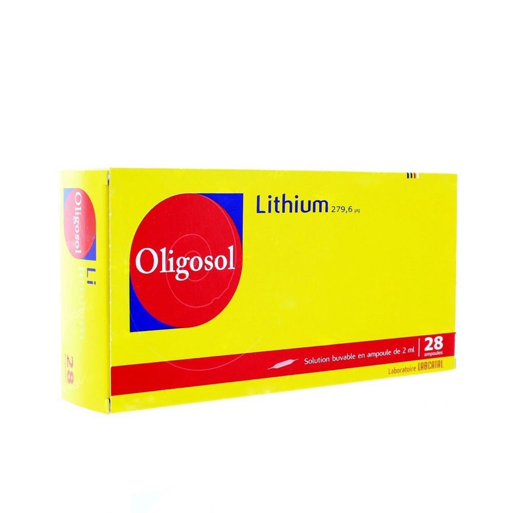 Oligosol lithium - 28 ampoules x - 2.0 ml - labcatal -192555