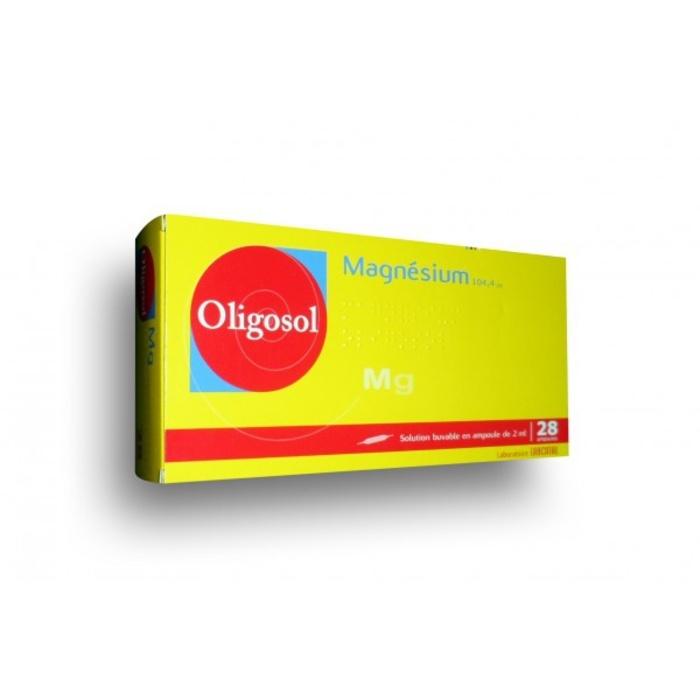 Oligosol magnesium - 28 ampoules x Labcatal-192725