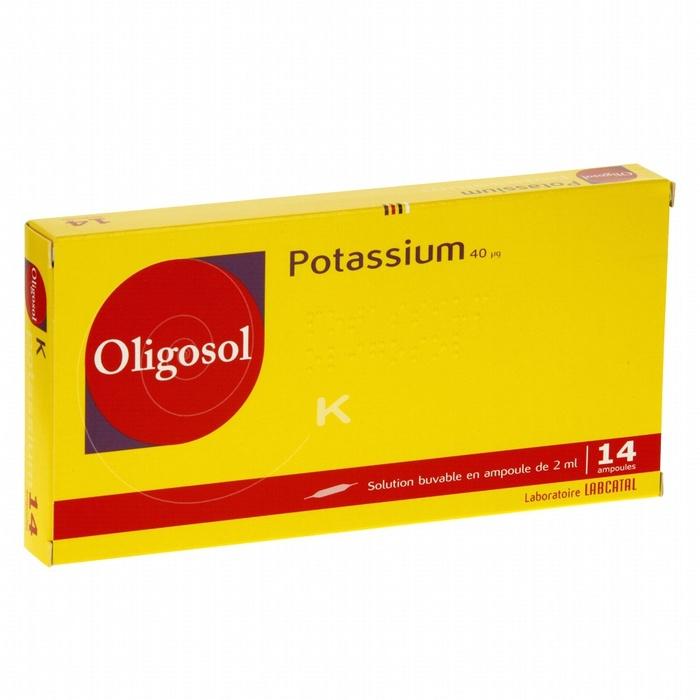 Oligosol potassium - 14 ampoules x Labcatal-193065