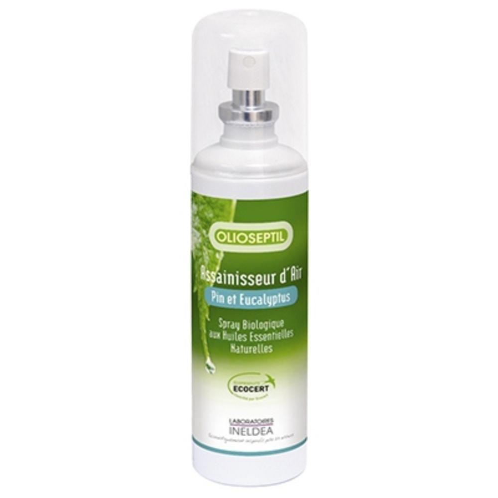 Olioseptil assainisseur d'air - pin & eucalyptus - 125.0 ml - aromathérapie - olioseptil -137209