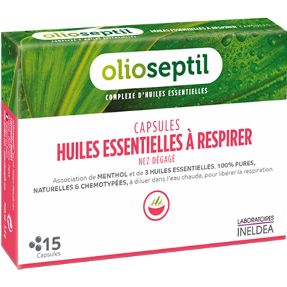 Olioseptil capsules huiles essentielles à respirer x15 - olioseptil -205888