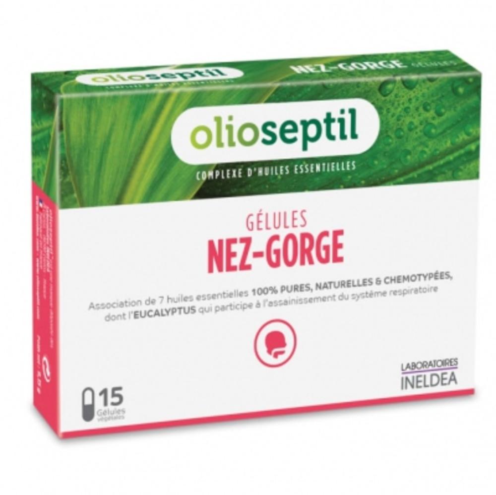 Olioseptil nez-gorge - 15.0 unites - aromathérapie - olioseptil -137201