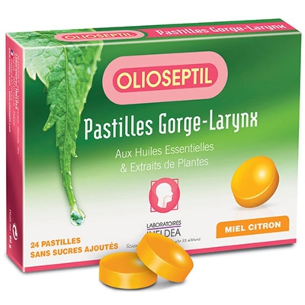 Olioseptil pastilles gorge larynx miel citron - olioseptil -204050