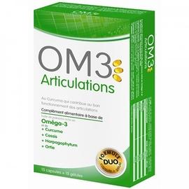 Om3 articulations - 15 capsules et 15 gélules - om3 -206076