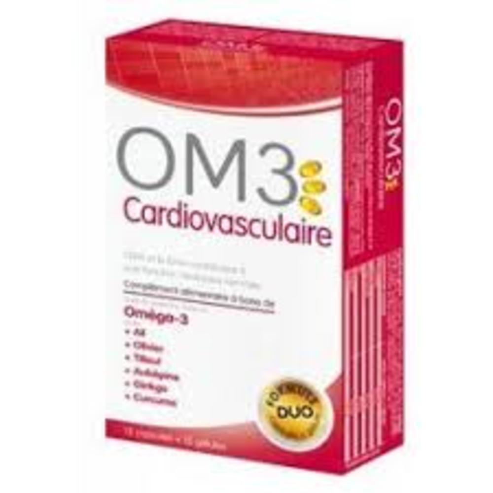 Om3 cardiovasculaire 15caps+15gel - super diet -210356