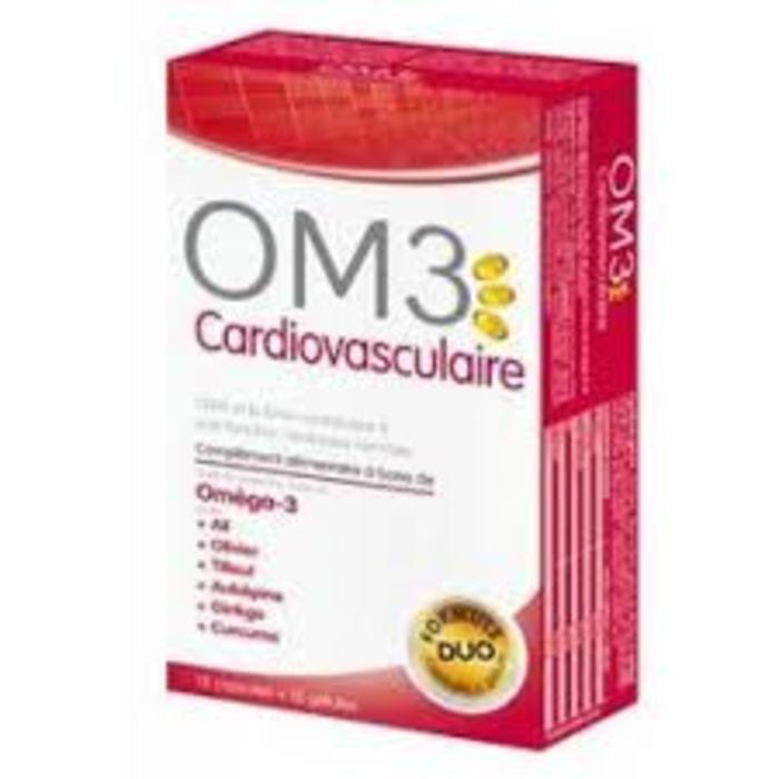 Om3 cardiovasculaire 15caps+15gel Super diet-210356