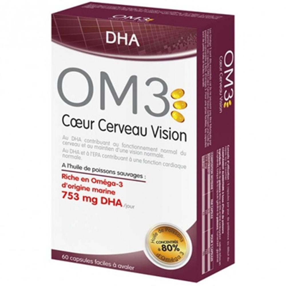 Om3 coeur cerveau vision isodis natura - 60 capsules - om3 -206077