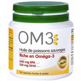 Om3 huile de poissons - 120 capsules - 120.0 unites - divers - om3 -140169