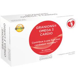 Oméga 3 cardio 30 capsules - granions -203486