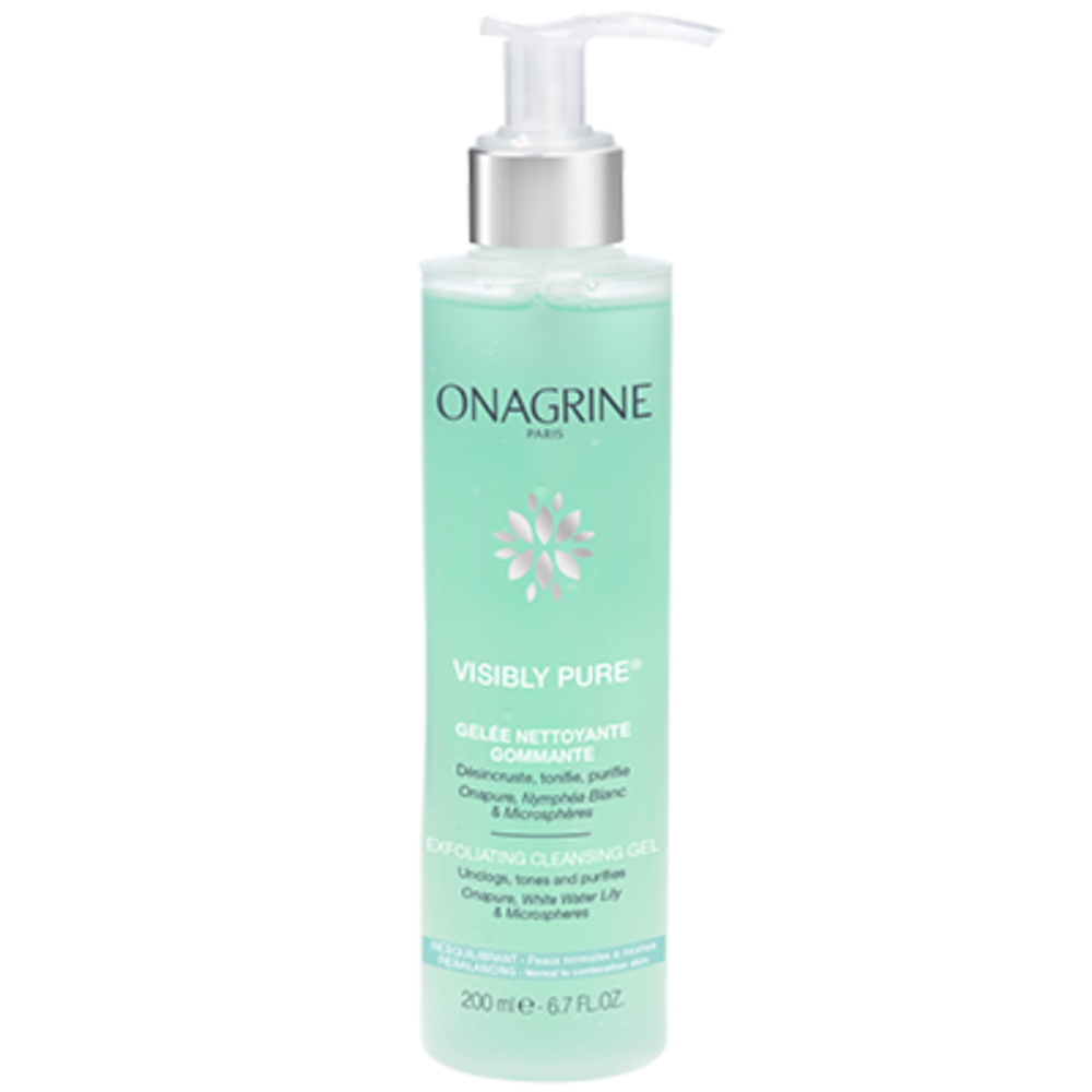 Onagrine visibly pure gelée nettoyante gommante - onagrine -204116