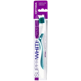 Optima brosse à dents medium - superwhite -199254