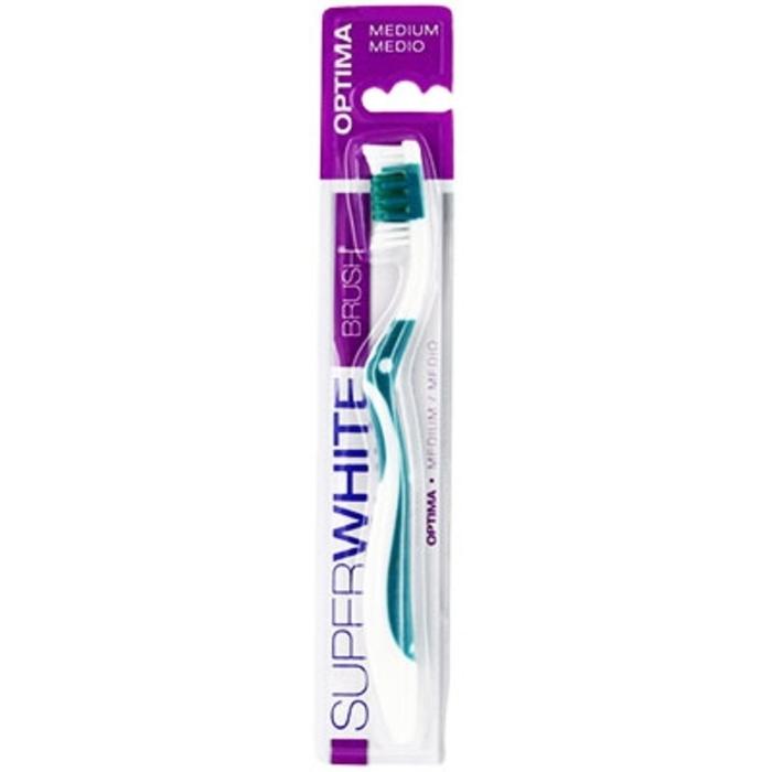 Optima brosse à dents medium Superwhite-199254