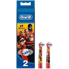 Oral b brossettes pour brosse à dents indestructibles 2 - lot de 2 - oral-b -222980