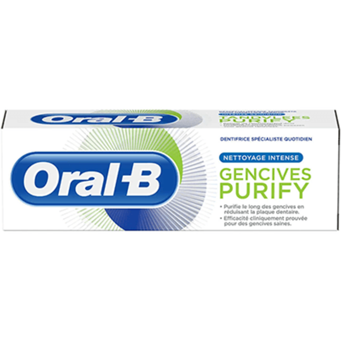 Oral b dentifrice gencives purify 75ml Oral b-227996