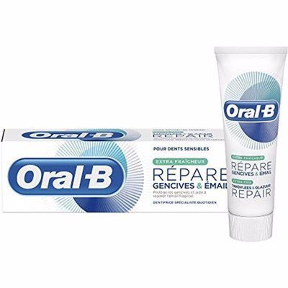 Oral-b dentifrice répare blancheur 75ml Oral b-214828