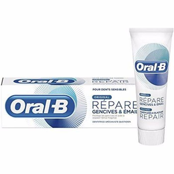 Oral b dentifrice répare original 75ml Oral b-214829