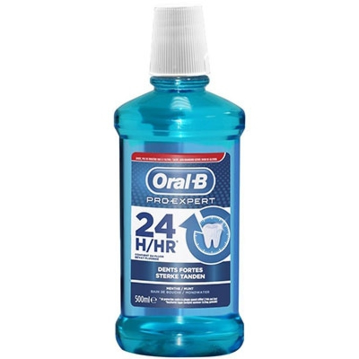 Oral b pro-expert bain de bouche dents fortes 500ml Oral b-205044
