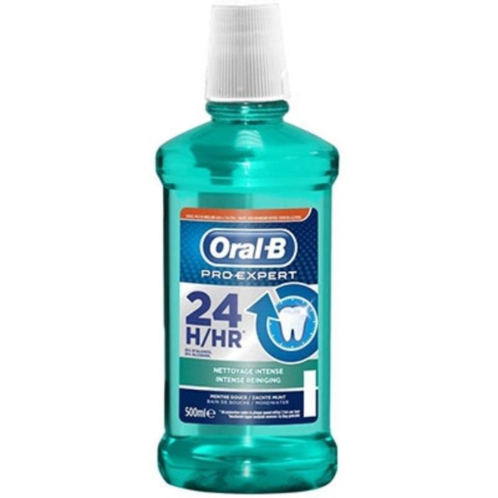 Oral b pro-expert bain de bouche nettoyage intense 500ml Oral b-205046