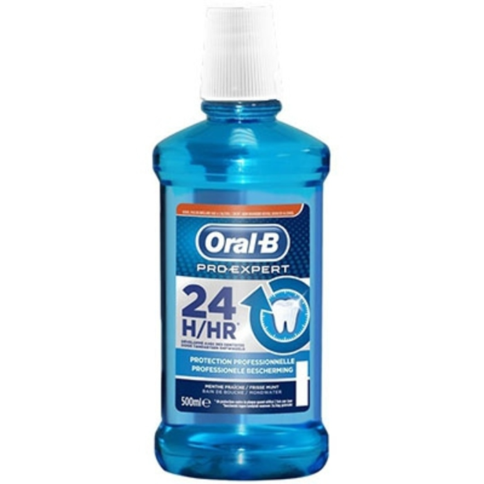 Oral b pro-expert bain de bouche protection professionnelle 500ml Oral b-205047