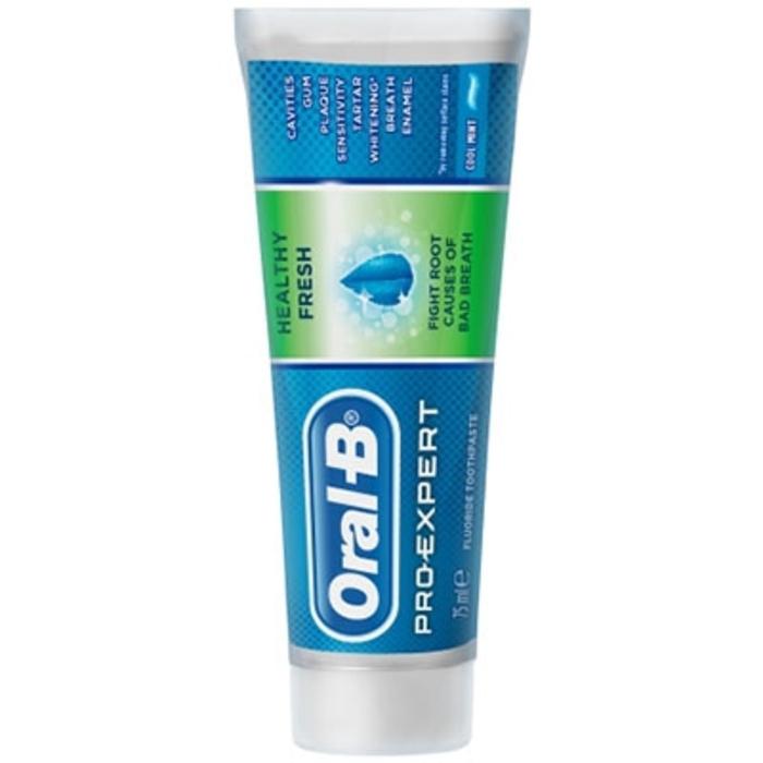 Oral b pro-expert dentifrice fraîcheur saine 75ml Oral b-203530