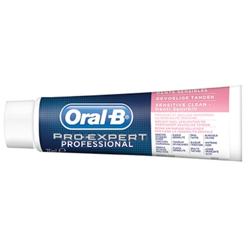 Oral-b pro-expert professionnal protection dents sensibles - 75.0 ml - oral-b -144924