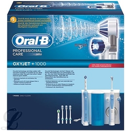 Oral-b professional care oxyjet + 1000 combiné dentaire - oral-b -205045