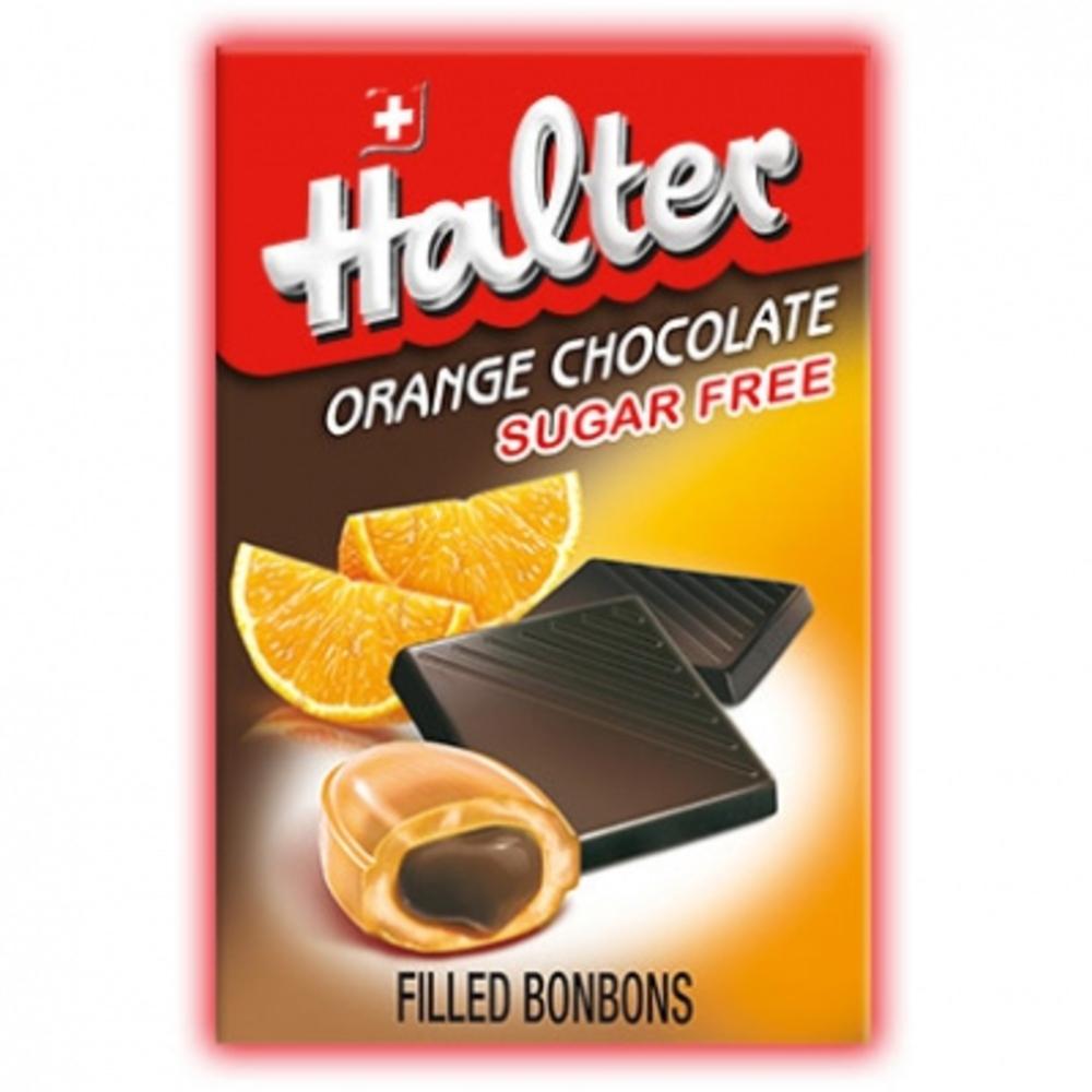 Orange chocolat sans sucre - halter -203931