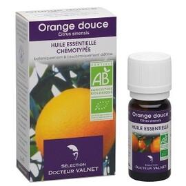 Orange douce bio - 10.0 ml - les huiles essentielles bio - dr. valnet Détente - digestion-15162