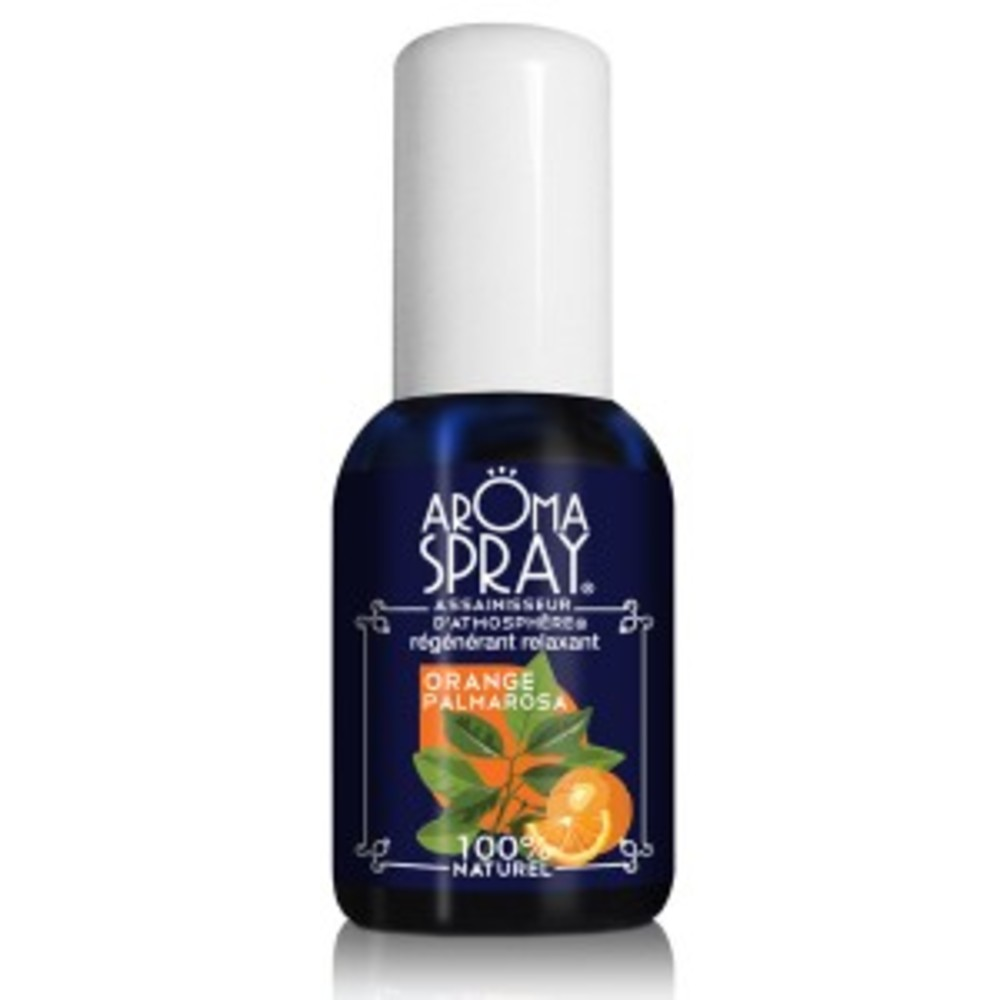 Orange palmarosa - vaporisateur 30 ml - divers - aromaspray -133546