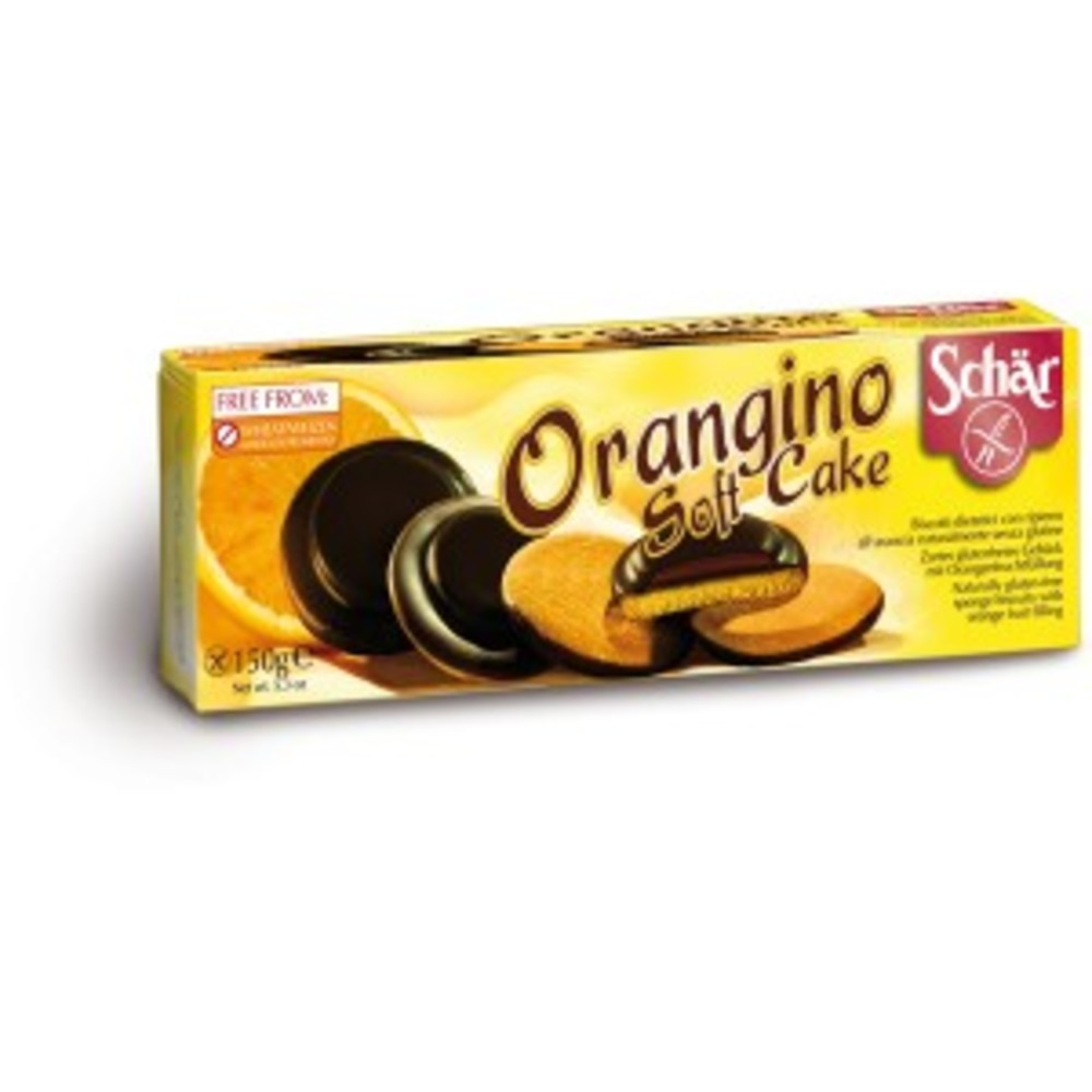 Orangino, biscuits au chocolat fourrés à l'orange -... - divers - schar -138187