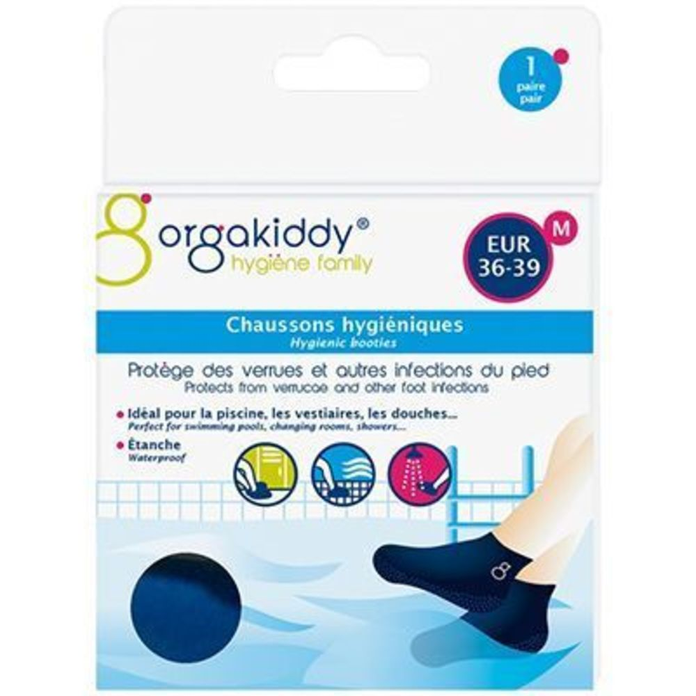 Orgakiddy chaussons hygiéniques m 36-39 - orgakiddy -223757