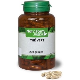 Original thé vert - 200 gélules - nat & form -210918