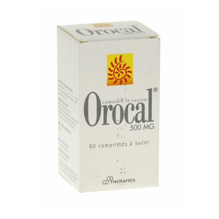 Orocal 500mg - 60 comprimés Theramex-192133