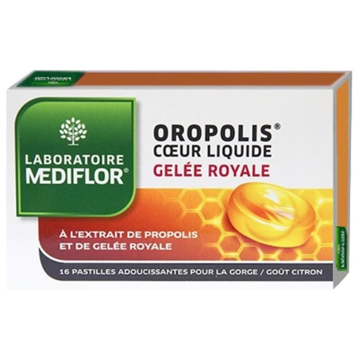 Oropolis pastilles coeur liquide gelée royale Mediflor-202854