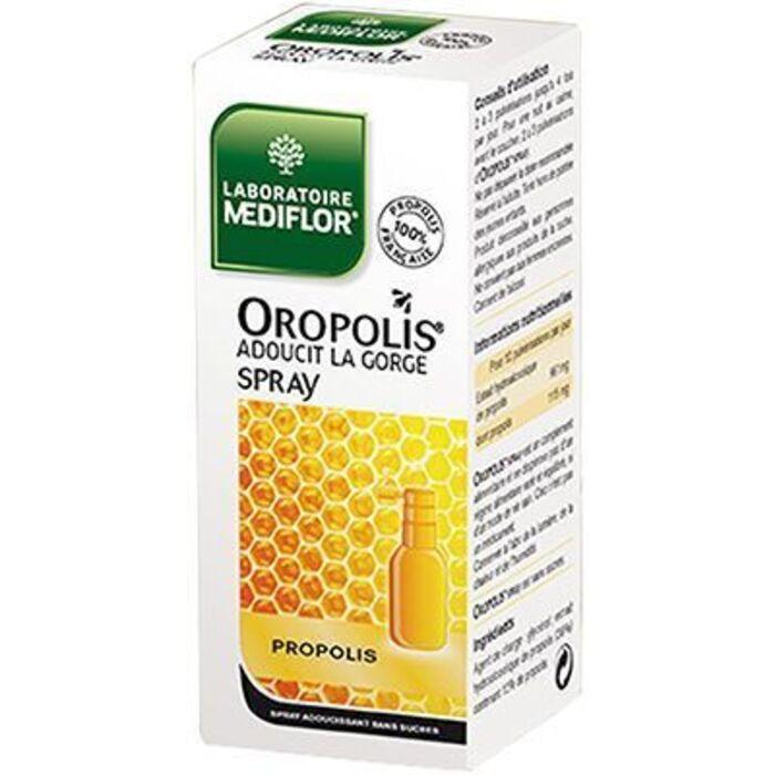Oropolis spray gorge 20ml Mediflor-212625