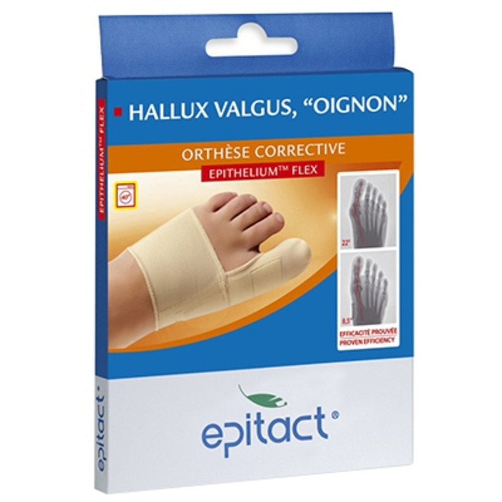 Orthèse corrective hallux valgus taille l - epitact -145267