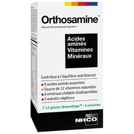 Orthosamine - 42 gélules - nhco -197781