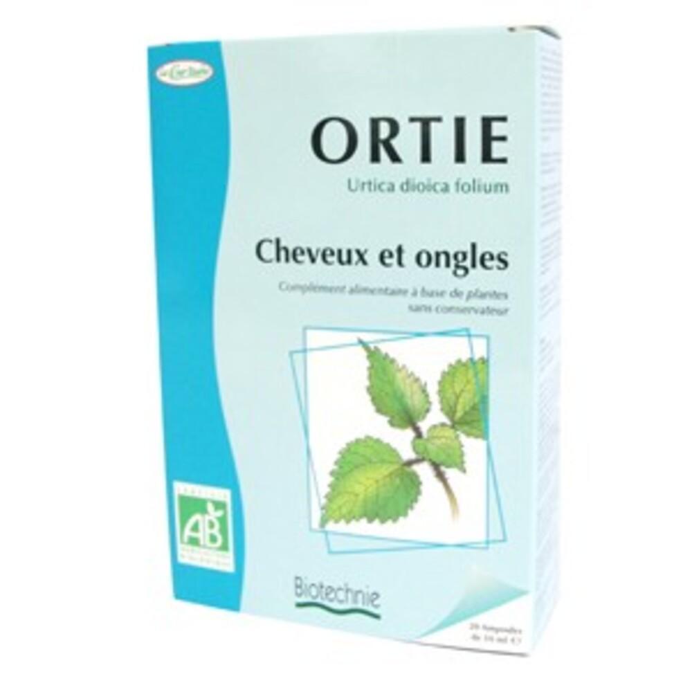 Ortie bio - 20 ampoules - divers - biotechnie la cour'tisane -136587