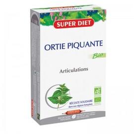 Ortie piquante ampoules bio - 20.0 unites - ossature - articulations - super diet stimule le métabolisme général-4447