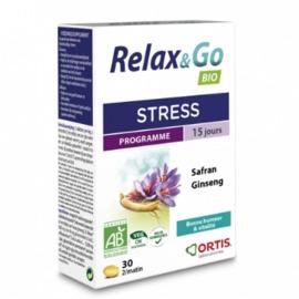Ortis relax & go bio stress 30 comprimés - ortis -206308