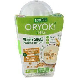 Oryoki veggie shake céréales et miel 1 repas - milical -221357
