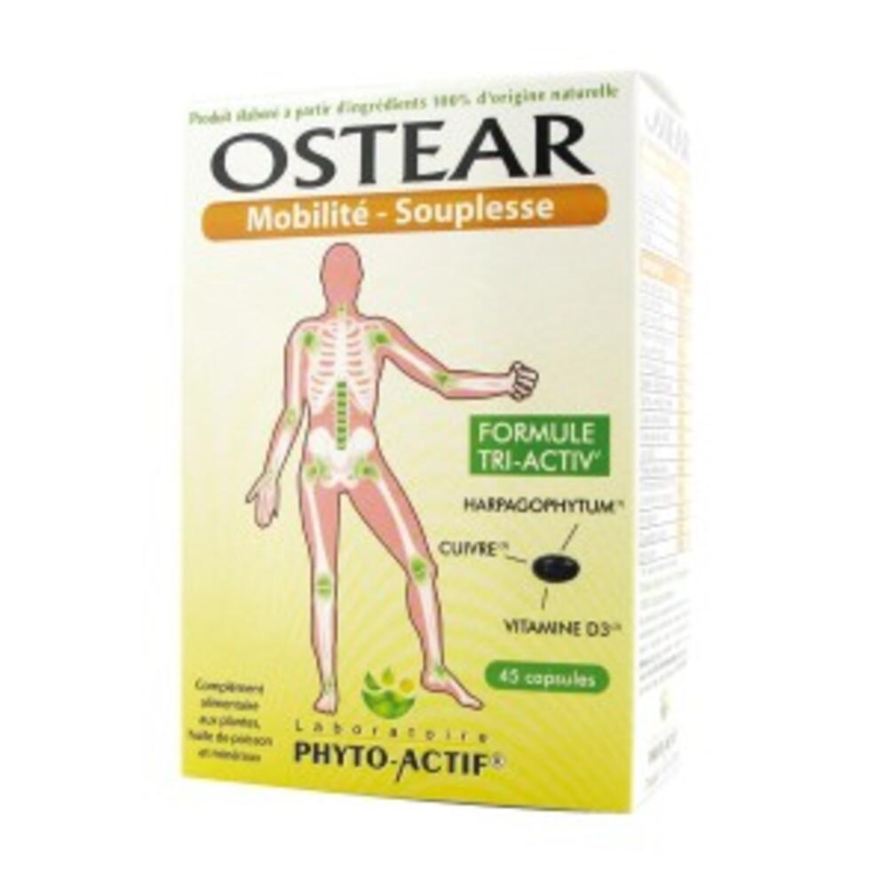 Ostear - 45.0 unites - les compléments alimentaires - phyto-actif Calcification et articulations-10016