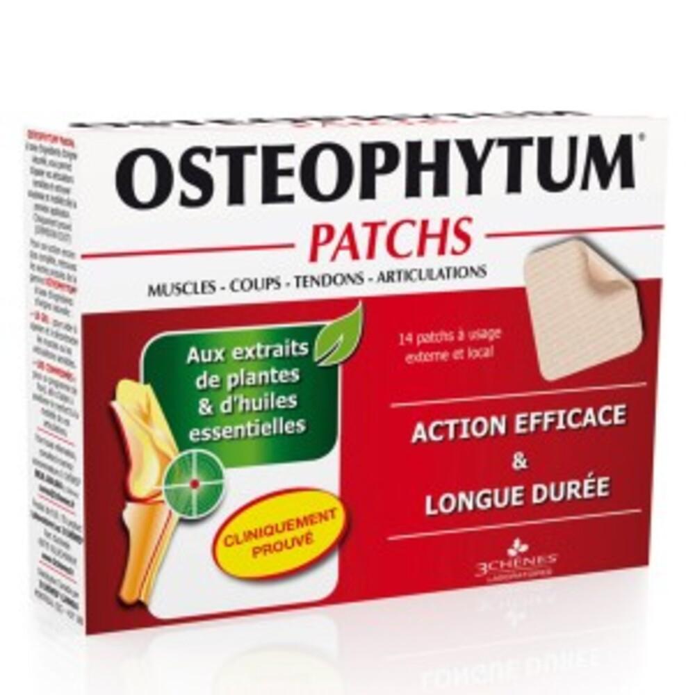 Ostéophytum patchs - 14.0  - médicare - les 3 chênes Flexibilité et mobilité-11805