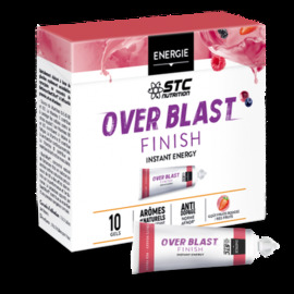 Over blast finish fruits rouges 10 gels - stc nutrition -205064